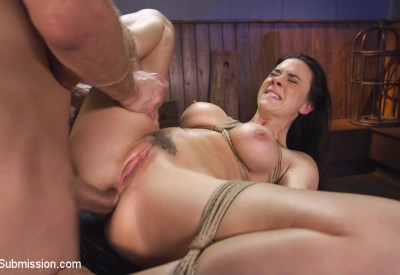 Chanel Preston is introduced to anal domination, tit adn pussy clamps and gags